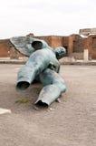 El ángel roto Fotografía de archivo