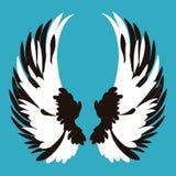 El ángel se va volando la historieta Fotos de archivo