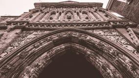 El ángulo bajo de Ethelbert Gate fotografía de archivo