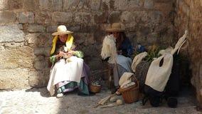 El árabe comercializa Ibiza España Foto de archivo libre de regalías