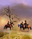 El árbol colgante stock de ilustración