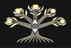 El árbol con los ojos Imagen de archivo libre de regalías