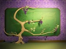 El árbol crece libre illustration
