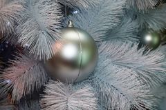El árbol de la Navidaddecoración, celebración del Año Nuevo imagenes de archivo