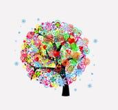 El árbol de la vida Foto de archivo libre de regalías