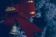 El árbol de las decoraciones del Año Nuevo de los hristmas del  de Ñ juega fotos de archivo libres de regalías