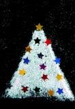 El árbol de navidad adorna de brillo Fotos de archivo libres de regalías