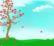 El árbol del amor. Fotografía de archivo