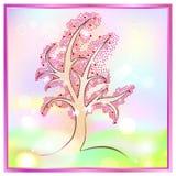 El árbol del amor Fotografía de archivo