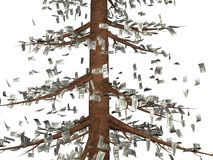 El árbol del dinero Imagen de archivo