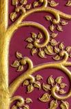 El árbol del diseño del oro del estilo tailandés Imagen de archivo