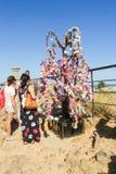 El árbol simbólico de deseos Imagen de archivo libre de regalías