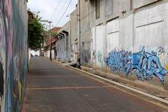 El área alrededor de Kota Lama Old Town de Semarang, Indonesia Foto de archivo libre de regalías