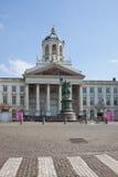 El área central está en la ciudad Bruselas Imágenes de archivo libres de regalías