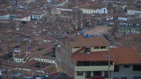 El área de Cuzco outskirts la naturaleza y paisajes almacen de video