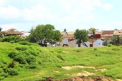 El área dentro del fuerte de Galle Imagen de archivo libre de regalías