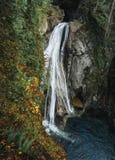 El área natural de Twin Falls es un gran lugar a caminar foto de archivo libre de regalías
