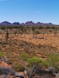 El área roja australiana Fotografía de archivo libre de regalías