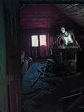 El ático secreto Imagen de archivo