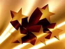 El éxito stars el icono Foto de archivo libre de regalías
