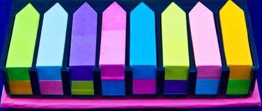 El índice de papel. Imagen de archivo