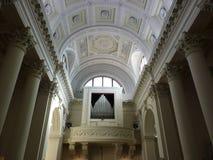 El órgano en la basílica de San Marino Fotografía de archivo libre de regalías