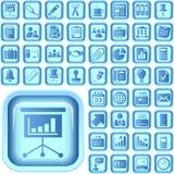 El último conjunto del icono del asunto Imagen de archivo libre de regalías