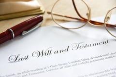 El último y testamento