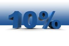 el 10% Fotografía de archivo
