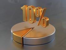 el 10% Imagenes de archivo