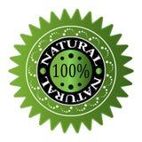 El 100% NATURAL Fotos de archivo libres de regalías