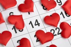 el 14 de febrero Imagen de archivo libre de regalías