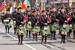 El 160o día del St. Patrick anual Imagen de archivo