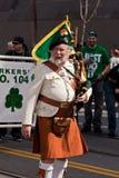 El 160o día del St. Patrick anual Foto de archivo libre de regalías