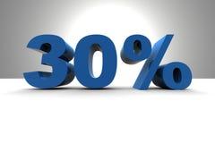 el 30% Fotografía de archivo