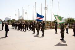 El 35to aniversario de la independencia de Cabo Verde Imágenes de archivo libres de regalías