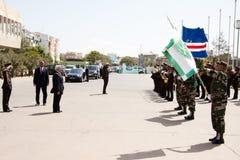 El 35to aniversario de la independencia de Cabo Verde Imagen de archivo libre de regalías