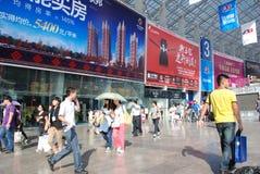 El 39.o resorte de las propiedades inmobiliarias justo en Chengdu Fotografía de archivo libre de regalías