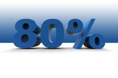 el 80% Imágenes de archivo libres de regalías