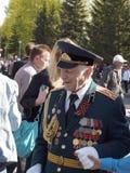 El 9 de mayo. Día de la victoria. Veteranos. Fotos de archivo