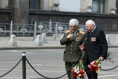 El 9 de mayo en Rusia Imagenes de archivo
