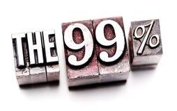 el 99% Foto de archivo