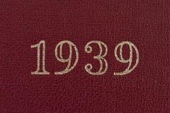 El año 1939 Fotografía de archivo