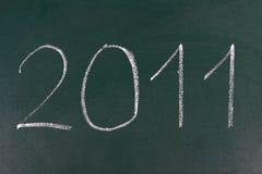 El año 2011 está viniendo Foto de archivo libre de regalías