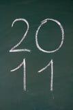 El año 2011 está viniendo Imagen de archivo libre de regalías