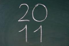 El año 2011 está viniendo Fotos de archivo libres de regalías