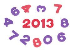 El año 2013 Fotografía de archivo libre de regalías