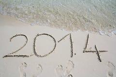El año 2014 Foto de archivo