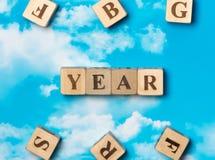 El año de la palabra Fotos de archivo