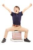 El año escolar ha terminado Imagenes de archivo